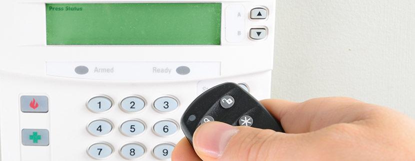 Ett lägenhetslarm skyddar dina värdesaker